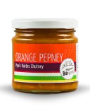 Orange Pepney (Kürbis Chutney)